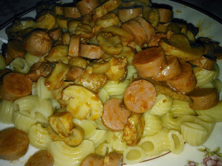 For girls- Inês Pinto Osório: Receita #6- Salsichas e Cogumelos Salpicados