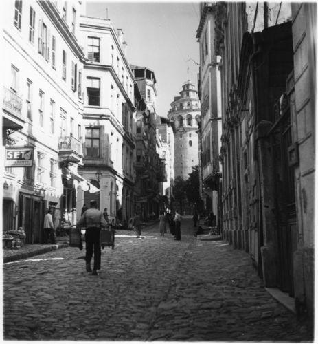 Street view, by Nicholas V. Artamonoff, not dated.