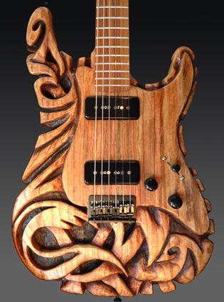 Warmoth Custom Guitar Parts - Gallery Entry Wow! I play Guitar And This is Just Beautiful Craftsmanship Just Awesome, Love it.