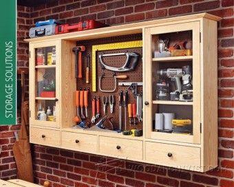 Workshop Storage Cabinet Plans - Workshop Solutions Plans, Tips and Tricks | WoodArchivist.com