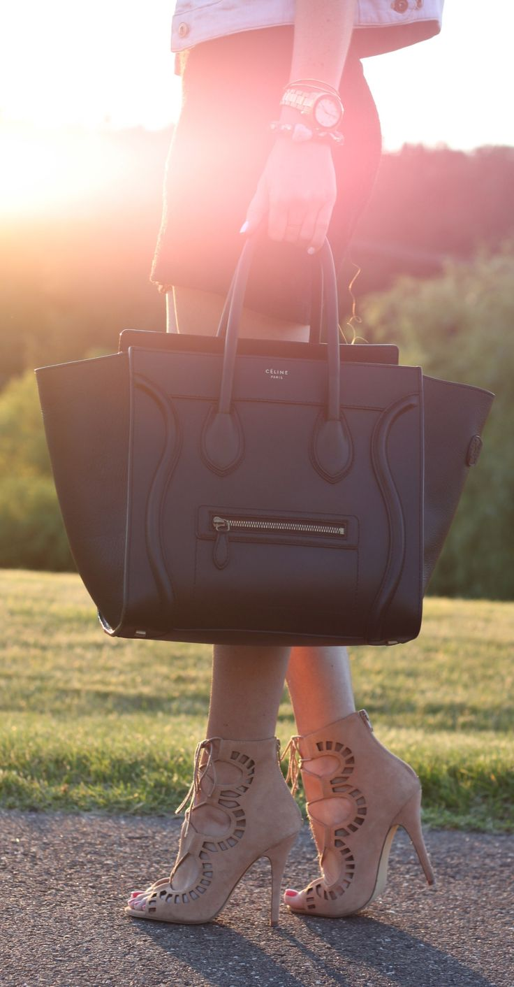 Love the bag + shoes