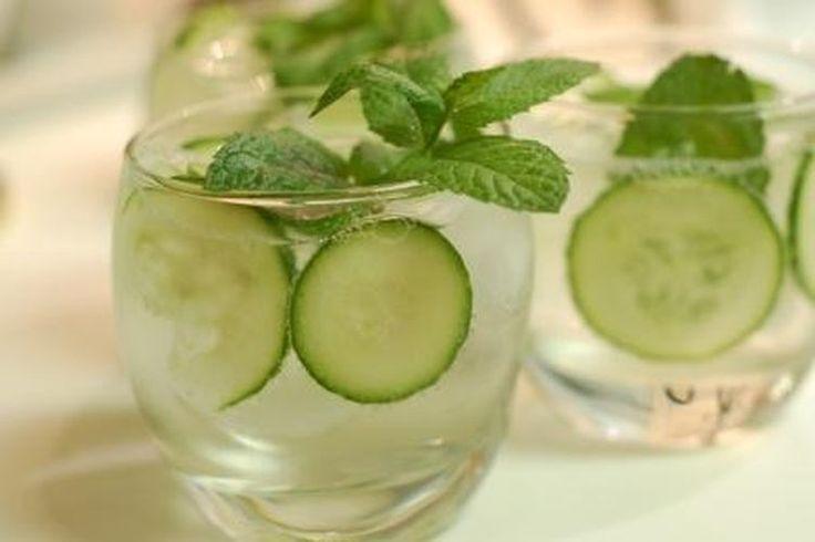 Cucumber, Mint, and Basil Soda recipe on Food52