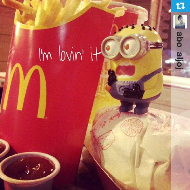 The Minions Happy Meal Toys are now at McDonald's Arabia. I want them to come back to America :'(