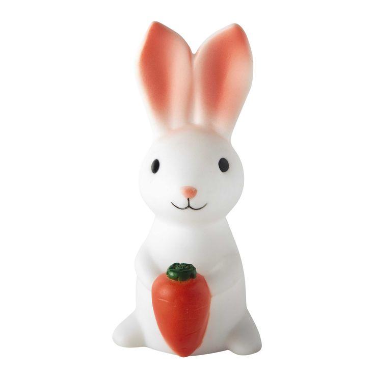 Veilleuse lapin enfant en plastique H 13 cm ADRIEN