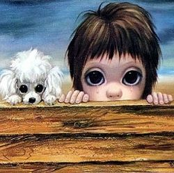 "Margaret Keane, a famous American artist and pop culture icon, is universally known as the ""mother of big-eye art.""  In the 1950s, Margaret's..."
