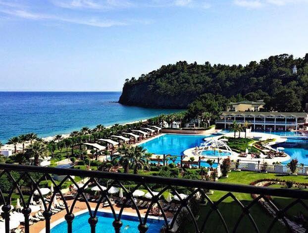 Stunning Mediterranean view... #AmaraDolceVitaLuxury #LuxuryLifeStyle #Turkey #Antalya #Destinations #Holiday #Travel #Trip #Vacation #Tatil #Seyahat #Beuatifulhotels #Beuatifuldestinations #Tekirova #Luxury