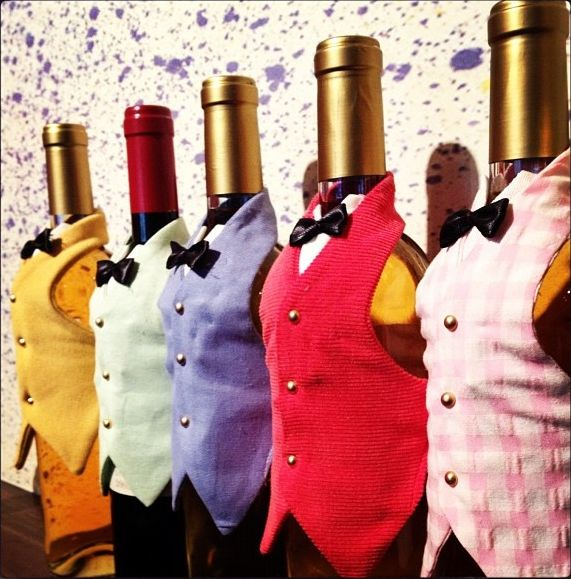 decorate wine bottles with ribbon pinteres