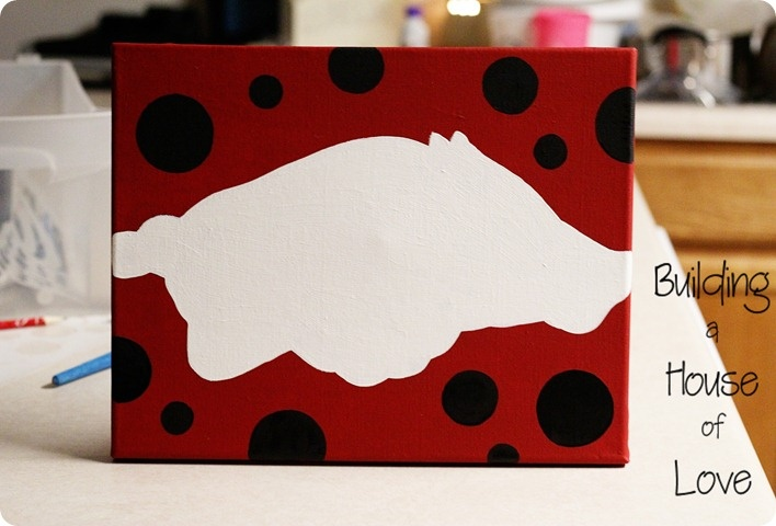 Paint your own Razorback canvas with your name or make it as a gift.