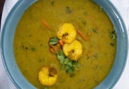 sopa de platano plantain sopa de patacón fried plantain soup sopa de ...