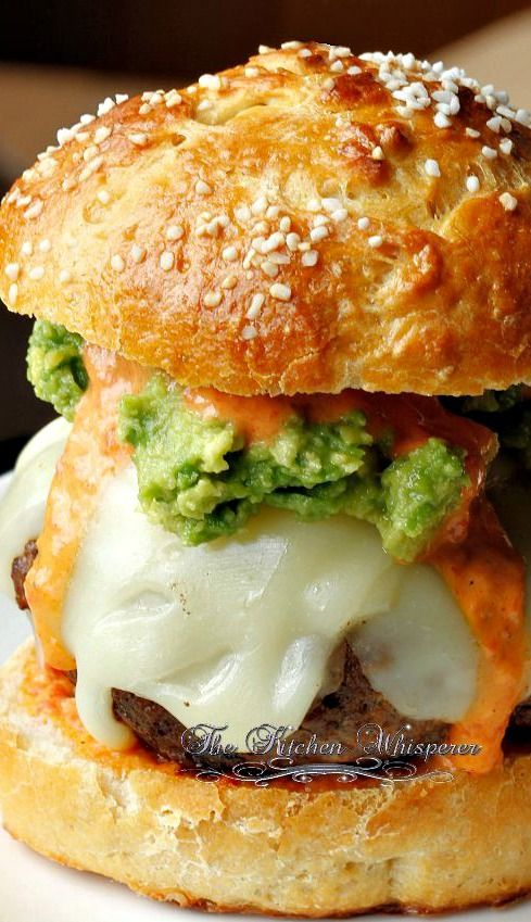 Chorizo Burgers with Cool Ranch Pepper Sauce Recipe