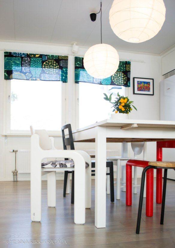 Eero Aarnio Flamingo chair  https://moniajoa.wordpress.com/2017/04/16/sisustusprojekti-kevainen-retrokeittio/