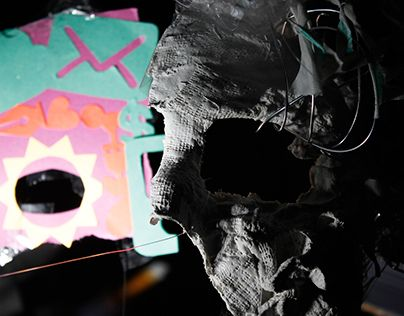 """Check out new work on my @Behance portfolio: """"Mixture - Mask"""" http://be.net/gallery/32036085/Mixture-Mask"""