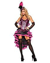 Womens Dancers Costumes - Elite Adult Sexy Burlesque Beauty Costume