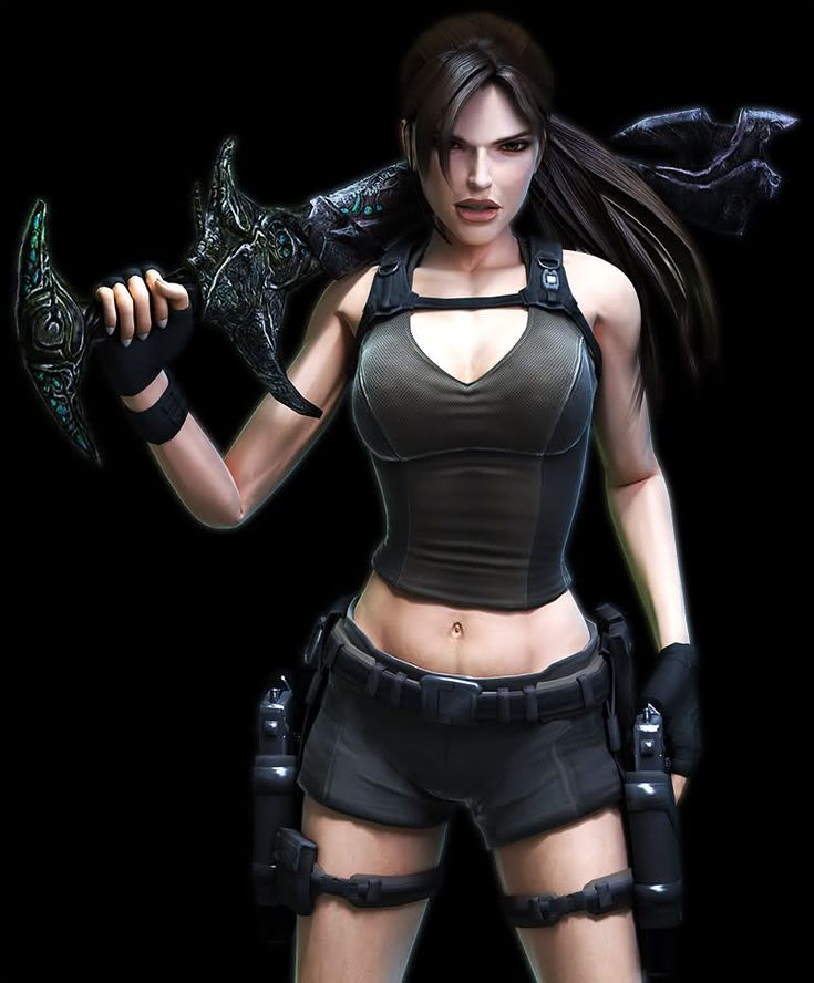 Lara Croft - Underworld Excalibur by https://SimplyShawn.deviantart.com on…