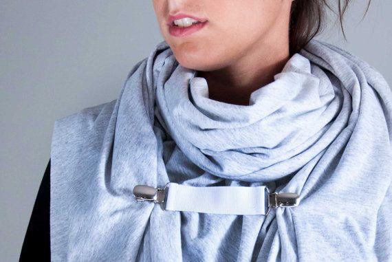 Oversized Polymorph Scarf extra large wrap shawl by clothbotshop