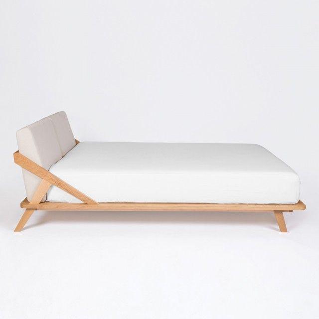 best 25 bett 180x200 holz ideas on pinterest holzbett. Black Bedroom Furniture Sets. Home Design Ideas