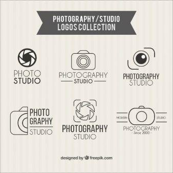Colección de logos de estudio de fotografía                                                                                                                                                      Más