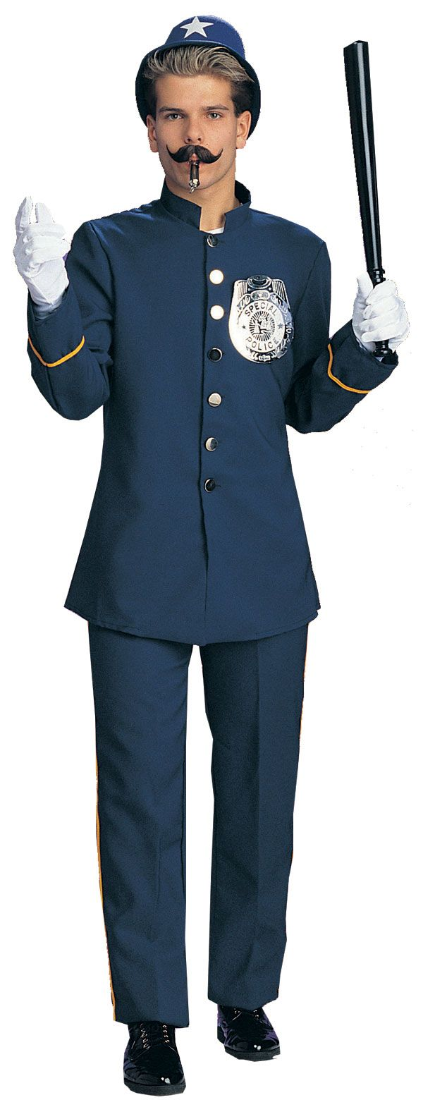 Keystone Cop Adult Costume - Police Costumes.  $40.  Costume Craze.  Men's.