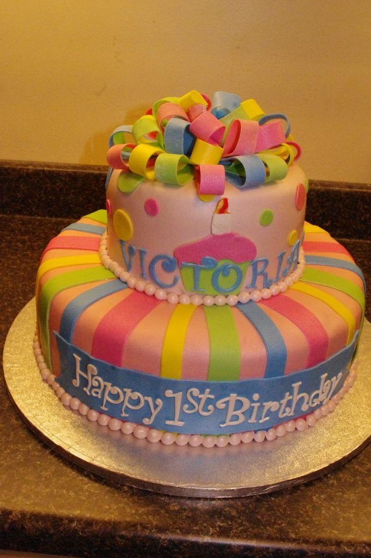 Rainbow Birthdya Cakes