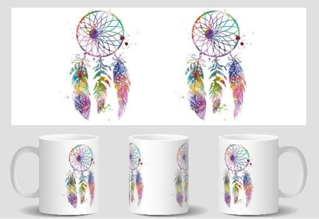 Dream Catcher mugs Tea gifts cold hot heat sensitive coffee mug friend gifts transforming  heat changing color