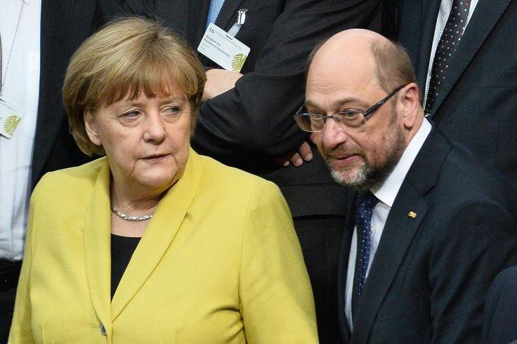 Bei der Bundespräsidentenwahl hat die große Koalition funktioniert. Doch nun wird es für die beiden Kanzlerkandidaten ernst. Merkel und Schulz sind bereits aufs Engste verbunden: in harter Konkurrenz.