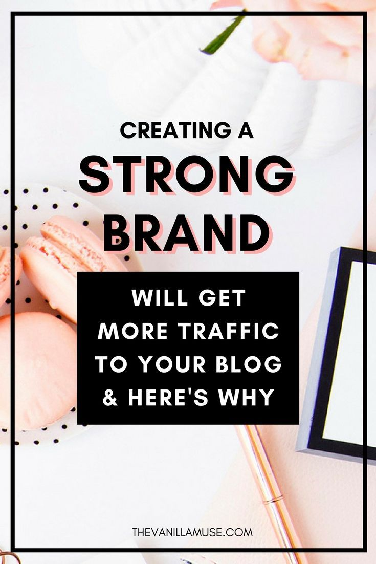 Sick of staring at Google Analytics only to see that your traffic isn't growing? Don't worry! There is a key you've probably missed that will transform everything. That key is a STRONG BRAND! Learn how a strong brand for your blog or business can help you get traffic to your blog and make more sales!