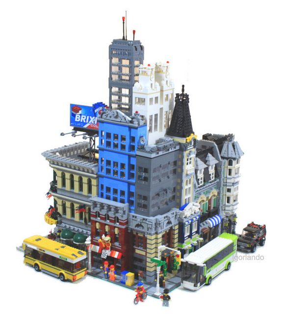 1287 best Lego Buildings images on Pinterest | Lego building, Lego ...