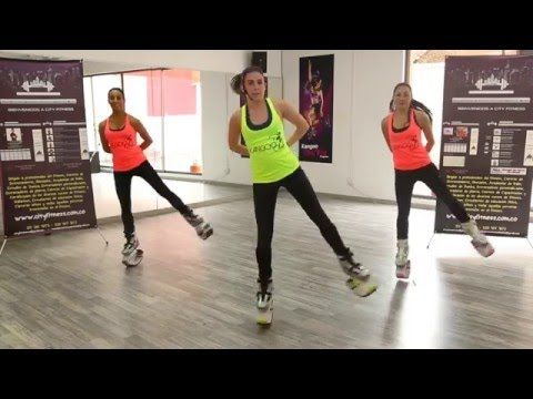 Acondicionamiento kangoo jumps - City Fitness - YouTube