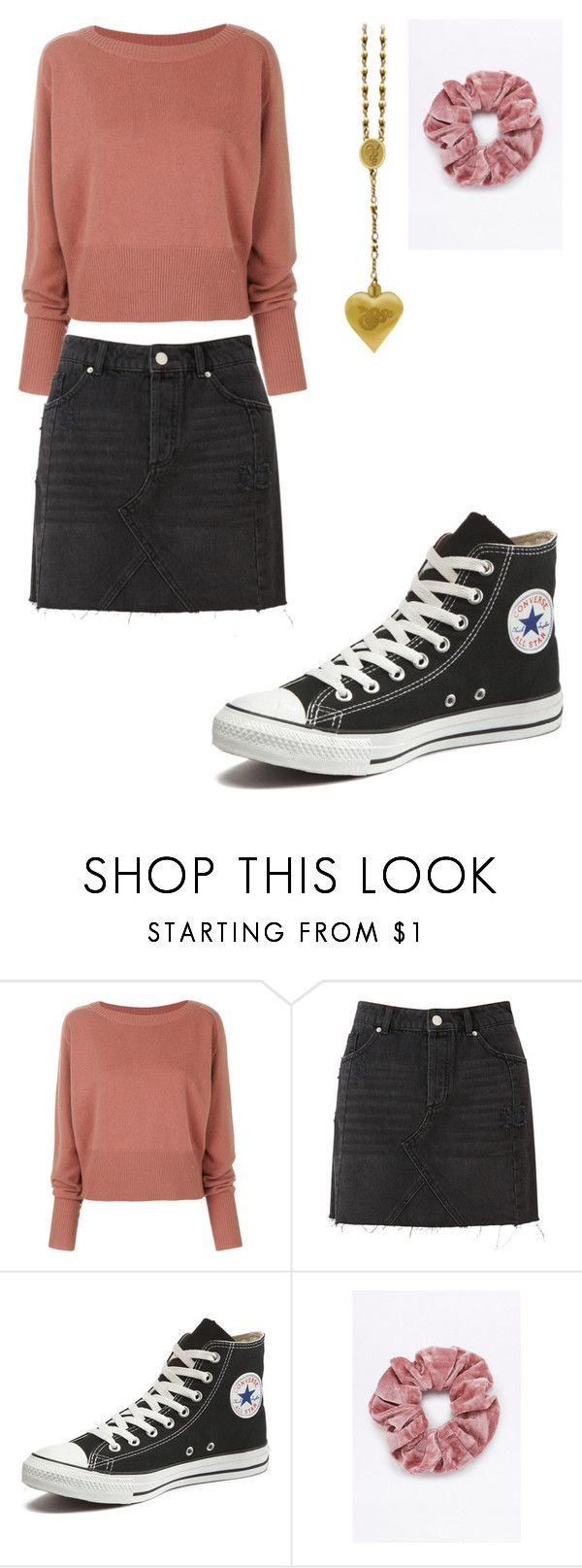samantha - outfit 8 by electrasweetheart on Polyvore featuring Theory, Miss Selfridge and Converse