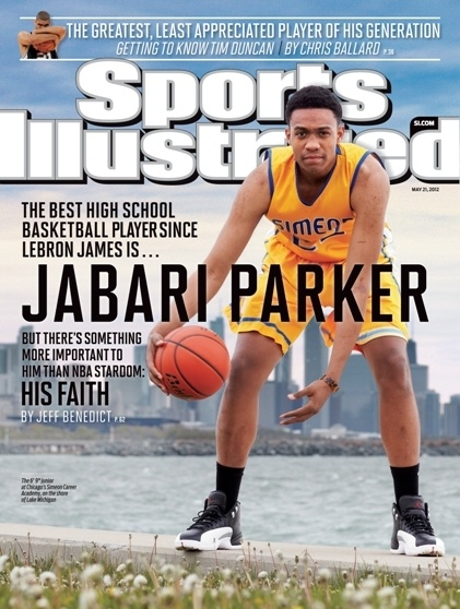 The May 21 cover of Sports Illustrated features Jabari Parker. (future Illini?)