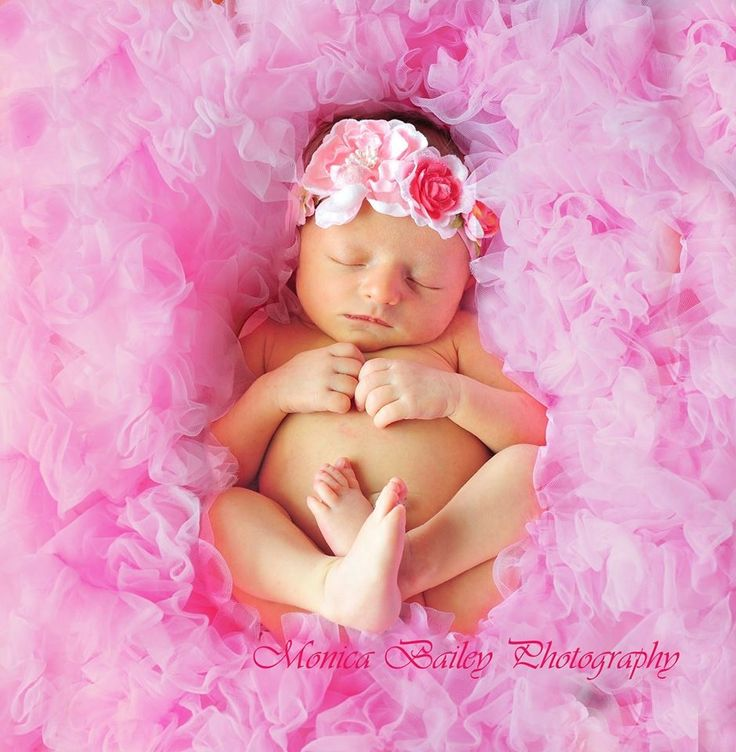 Newborn girl baby month photo shoot session ideas pose pink petti romper adorable 0 pinterest - Photography ideas for girl ...