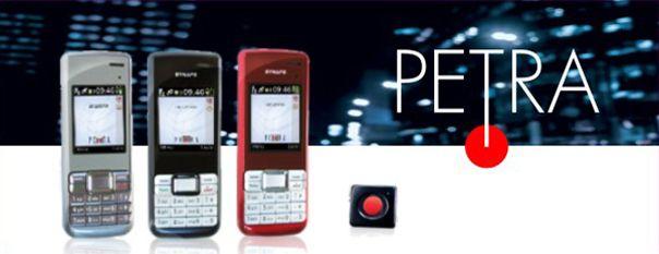 PeTra - Cellulare salvavita con localizzatore GPS e pulsante d'allarme