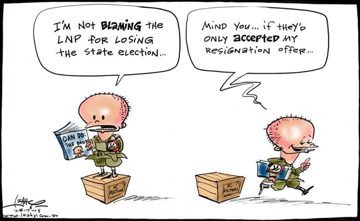 Campbell Newman: LNP should've dumped me: Instead, QLD did.