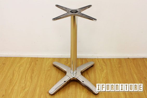 ROMA 60 Cross Stainless Steel plated Table Base , Commercial & Cafe, NZ's Largest Furniture Range with Guaranteed Lowest Prices: Bedroom Furniture, Sofa, Couch, Lounge suite, Dining Table and Chairs, Office, Commercial & Hospitality Furniturte