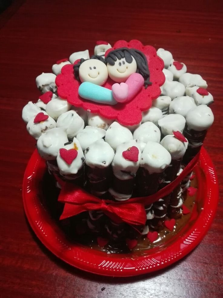 Torta de cuchuflis de amor