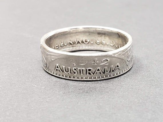 Pin On Coin Rings