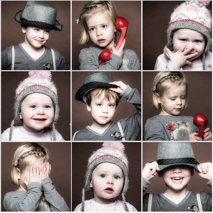 kinderfotografie, collage voor gezin met 3 kinderen