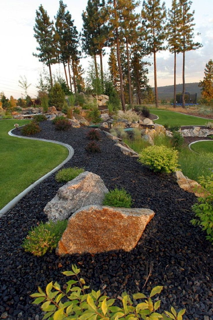 Fabulous rock garden ideas for backyard and front yard (28)