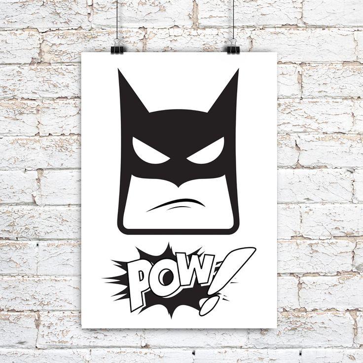 My Lucky Day | Batman | Plakat A3