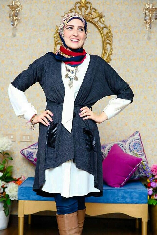 Hijab#style#winter#2016: