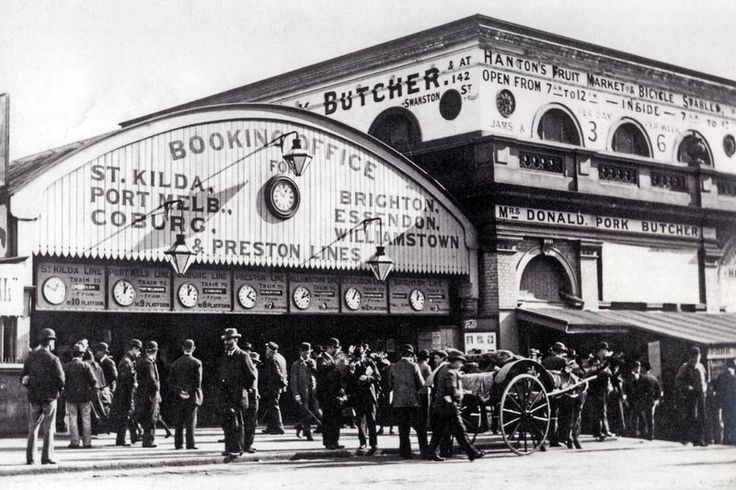 Original Flinders Street Station