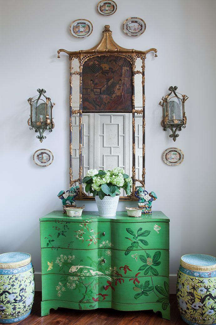 Chinoiserie Chic perfection!