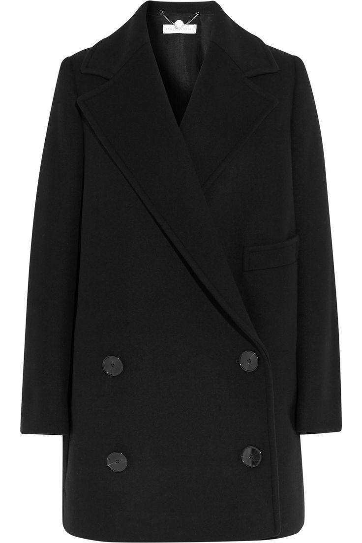Stella McCartney|Edith double-breasted wool-blend coat|NET-A-PORTER.COM
