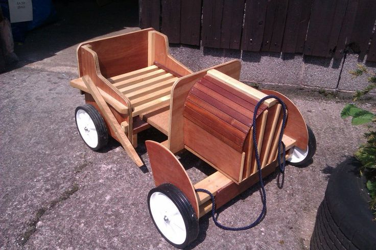 A toy classic go-cart made. I love this and still have it. One of the first things I made while trying to start to learn woodworking just 2 and a half years ago!