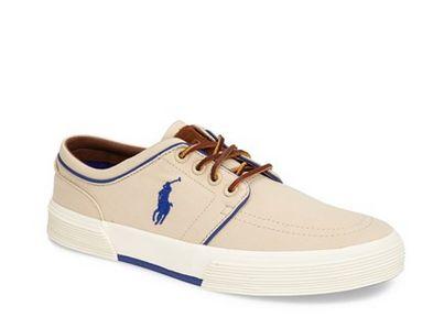 Polo Ralph Lauren 'Faxon Low' Sneaker (Men) $29 shipped @ Nord Strom - Hot Deals