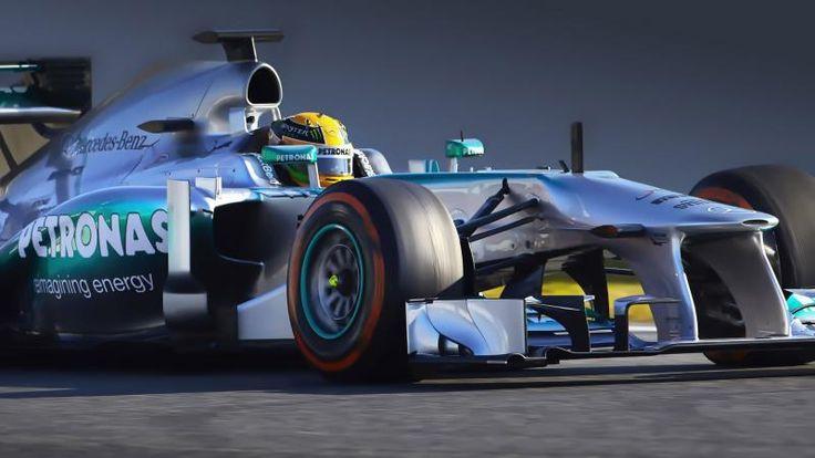 Mercedes F1 Car Lewis Hamilton