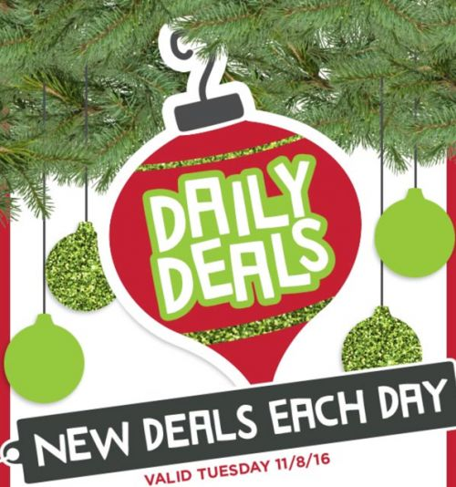 Michaels Canada 1-Day Deals: Save 60% Off Boxed Cards 50% Off Christmas Décor Wreaths Handcrafted Floral Arra... http://www.lavahotdeals.com/ca/cheap/michaels-canada-1-day-deals-save-60-boxed/135678