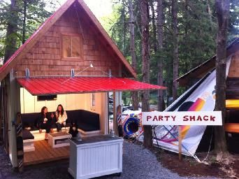 Turn Your Cottage Bunkie Into A Party Shack Backyard
