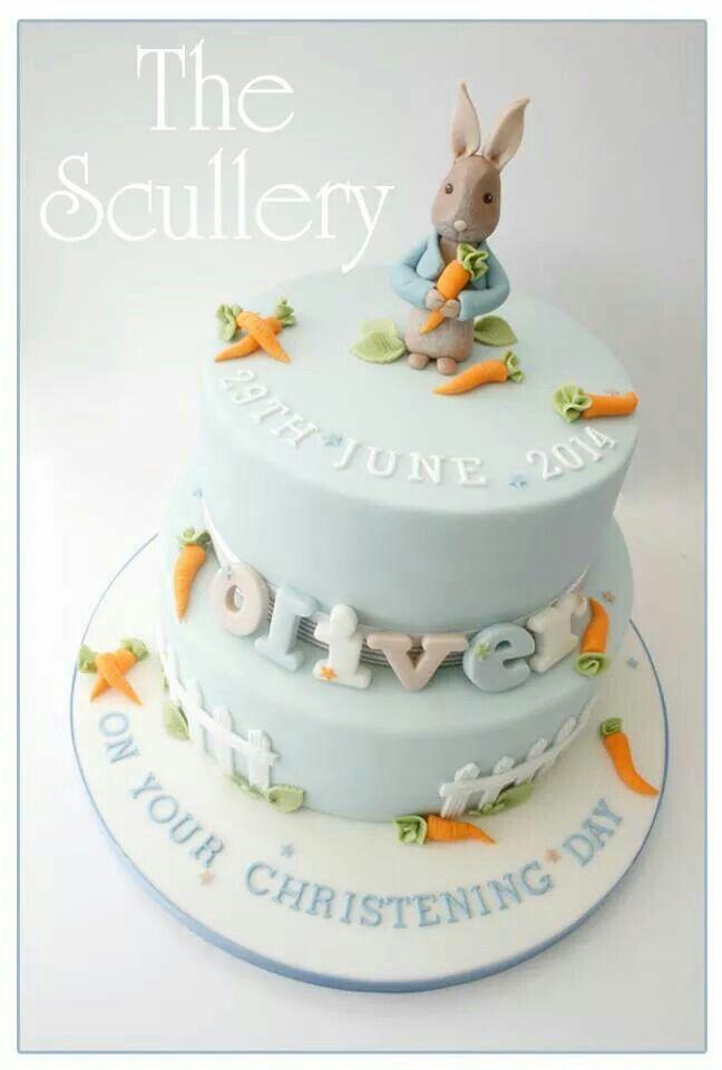 Baptism Birthday Cake Ideas