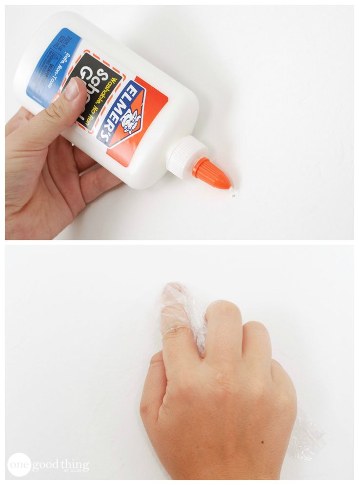 10 Uses for White Glue-fill nail holes in wall